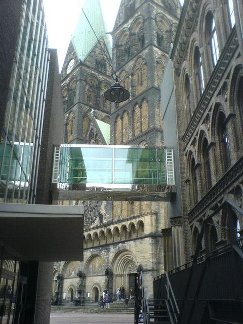 puenzli alt und neu moderne alt architektur br cke bremen