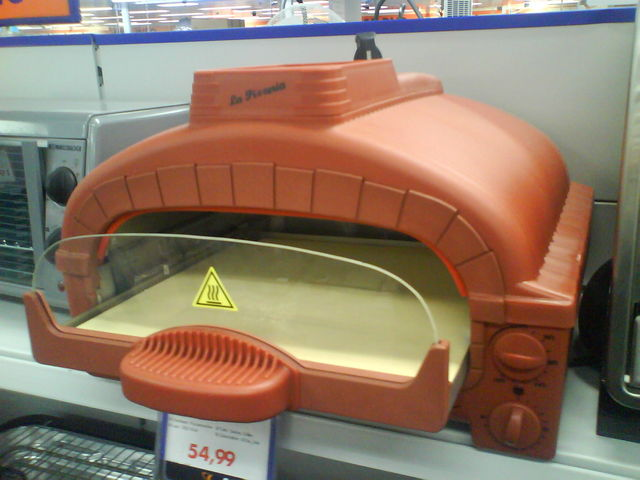 Stephan Do It Yourself Nino Ofen Pizza Plastik Saturn