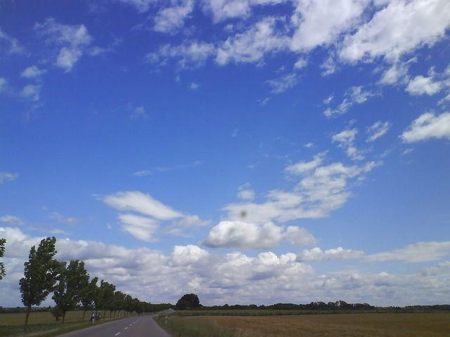 Blau Blau Himmel Blau