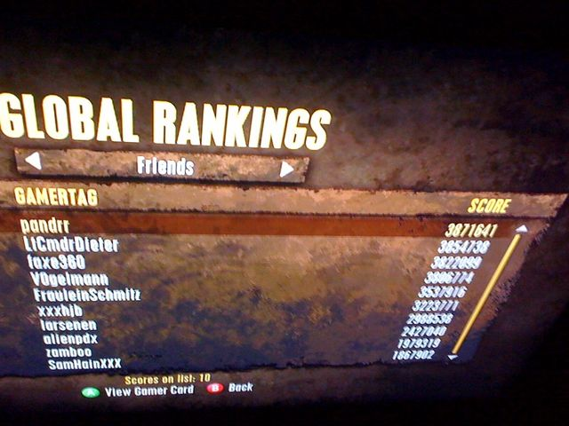 motivationsposen highscore ranking xbox game xbox360 trialshd